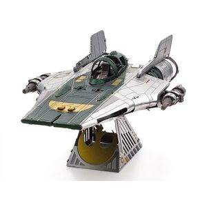 [Star Wars: The Rise Of Skywalker: Metal Earth Model Kit: Resistance A-Wing Fighter (Product Image)]