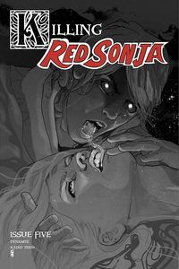 [Killing Red Sonja #5 (Ward Grayscale Variant) (Product Image)]