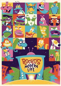 [Rocko's Modern Life #8 (Subscription Perillo Variant) (Product Image)]