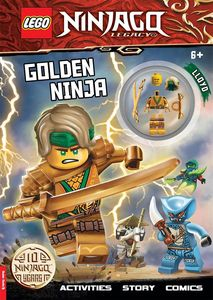 [LEGO Ninjago: Activity Book (With Minifigure) (Product Image)]