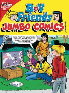 [B & V Friends: Jumbo Comics Digest #279 (Product Image)]