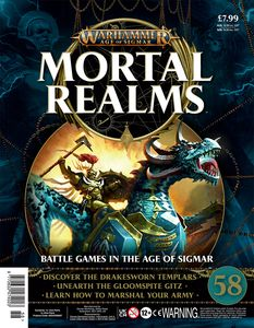 [Warhammer: Age Of Sigmar: Mortal Realms #58 (Product Image)]