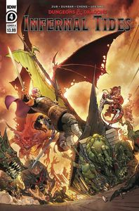 [Dungeons & Dragons: Infernal Tides #4 (Cover A Dunbar) (Product Image)]