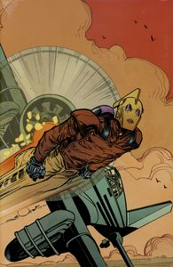 [Rocketeer: Hollywood Horror (Hardcover - DM Edition) (Product Image)]