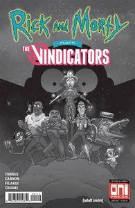 [Rick & Morty Presents: The Vindicators #1 (2nd Printing) (Product Image)]