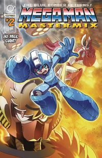 [The cover for Mega Man: Mastermix #2 (Cover A Ariga)]