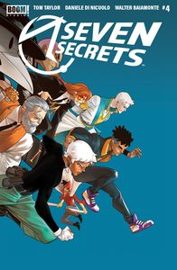 [Seven Secrets #4 (2nd Printing) (Product Image)]