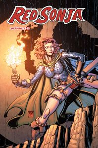 [Red Sonja #25 (Cover D Robson) (Product Image)]