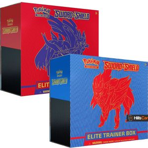 [Pokemon: Elite Trainer Box: Sword & Shield (Product Image)]