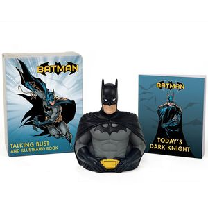 [Batman: Talking Bust Kit & Illustrated Book (Product Image)]