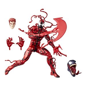[Marvel Legends: Venom Build-A-Figure Action Figure: Carnage (Product Image)]