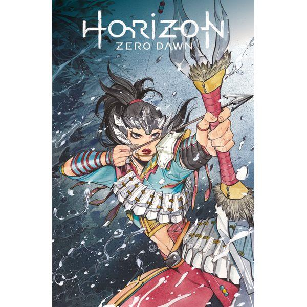 [The cover for Horizon Zero Dawn #3 (Cover A Momoko)]