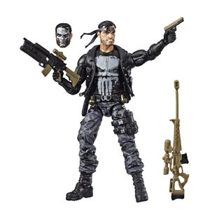 [Marvel Legends: 80th Anniversary Action Figure: Punisher (Product Image)]