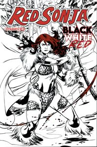 [Red Sonja: Black White Red #1 (Cover B Lupacchino) (Product Image)]