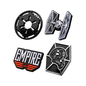 [Star Wars: 4 Pin Set: Imperial (Product Image)]