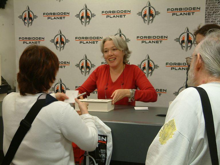 Susanna Clarke Signing