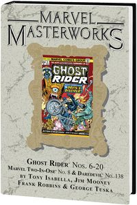 [Marvel Masterworks: Ghost Rider: Volume 2 (DM Variant Edition 297 Hardcover) (Product Image)]