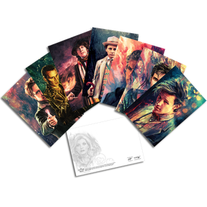 [Doctor Who: Postcard Pack: Alice X Zhang Artwork Set II (Product Image)]