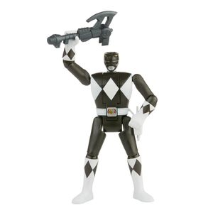 [Power Rangers: Retro Morph Action Figure: Black Ranger (Product Image)]