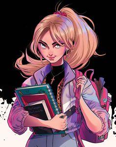 [Buffy The Vampire Slayer Tea Time #1 (Cover E Unlockable Boo Virgin Variant) (Product Image)]