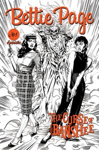 [Bettie Page: The Curse Of The Banshee #1 (Mooney Pencils Variant) (Product Image)]