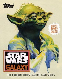[Star Wars: Galaxy: Original Topps Trading Cards (Hardcover) (Product Image)]