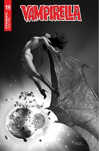 [Vampirella #19 (Gunduz Black & White Variant) (Product Image)]
