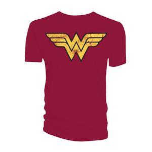 [DC: T-Shirt: Wonder Woman Logo (Product Image)]