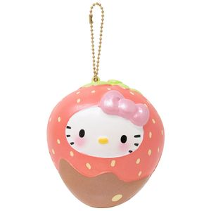 [Hello Kitty: Squishy: Strawberry Choco Dip (Product Image)]