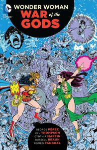 [Wonder Woman: War Of The Gods: Omnibus (Hardcover) (Product Image)]