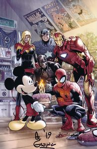 [Marvel Comics #1000 (Ramos D23 Disney Expo Variant Signed Edition) (Product Image)]