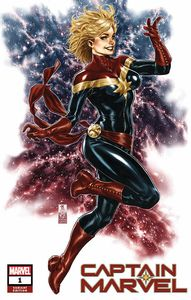 [Captain Marvel #1 (Mark Brooks Variant) (Product Image)]