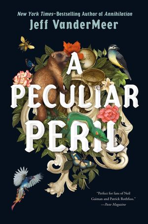 [The cover for A Peculiar Peril (Misadventures Of Jonathan Lambshead Book 1) (Signed Edition Hardcover)]