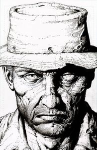 [Walking Dead: Deluxe #8 (2nd Printing Cover B Finch Raw Variant) (Product Image)]