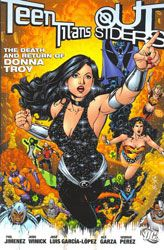 [Teen Titans / Outsiders: The Death And Return Of Donna Troy (Product Image)]