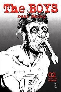[The Boys: Dear Becky #2 (Robertson Line Art Premium Bonus Variant) (Product Image)]