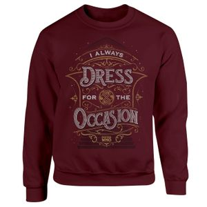 [Doctor Who: Anniversary Collection: Sweatshirt: I Always Dress For The Occasion (Product Image)]
