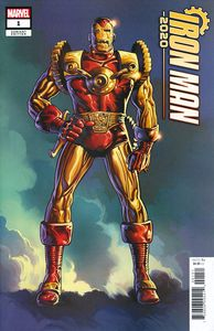 [Iron Man: 2020 #1 (Trimpe Windsor Smith Remastered Variant) (Product Image)]
