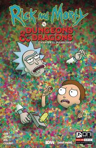 [Rick & Morty Vs D&D II: Painscape #4 (Cover B Wells) (Product Image)]