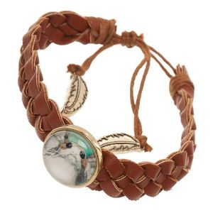 [Star Wars: The Last Jedi: Braided Rebel Bracelet: Porg (Product Image)]