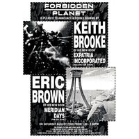[Keith Brooke and Eric Brown Signing (Product Image)]