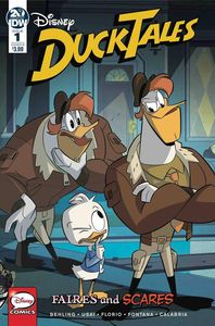 [Ducktales: Faires & Scares #1 (Cover B Ghillone & Stella) (Product Image)]
