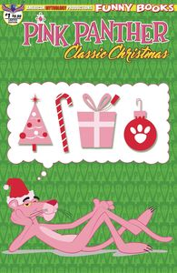 [Pink Panther: Classic Christmas #1 (Limited Edition Retro Animation Cover) (Product Image)]