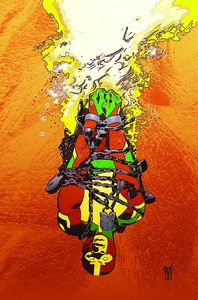 [Mister Miracle: The Source Of Freedom #1 (Cover B Valentine De Landro Card Stock Variant) (Product Image)]