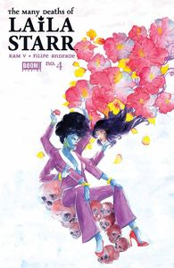 [Many Deaths Of Laila Starr #4 (Cover B Kristantina Foil) (Product Image)]