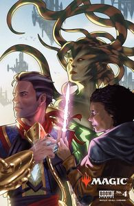 [Magic The Gathering #4 (Cover E Clarke Variant) (Product Image)]
