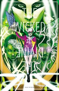 [The Wicked + The Divine #39 (Cover B Jimenez & Cunniffe) (Product Image)]