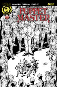 [Puppet Master #22 (Cover B Carrillo Sketch) (Product Image)]