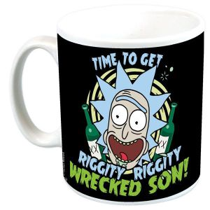 [Rick & Morty: Mug: Riggity Wrecked (Product Image)]