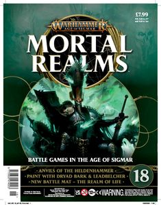 [Warhammer: Age Of Sigmar: Mortal Realms #18 (Product Image)]